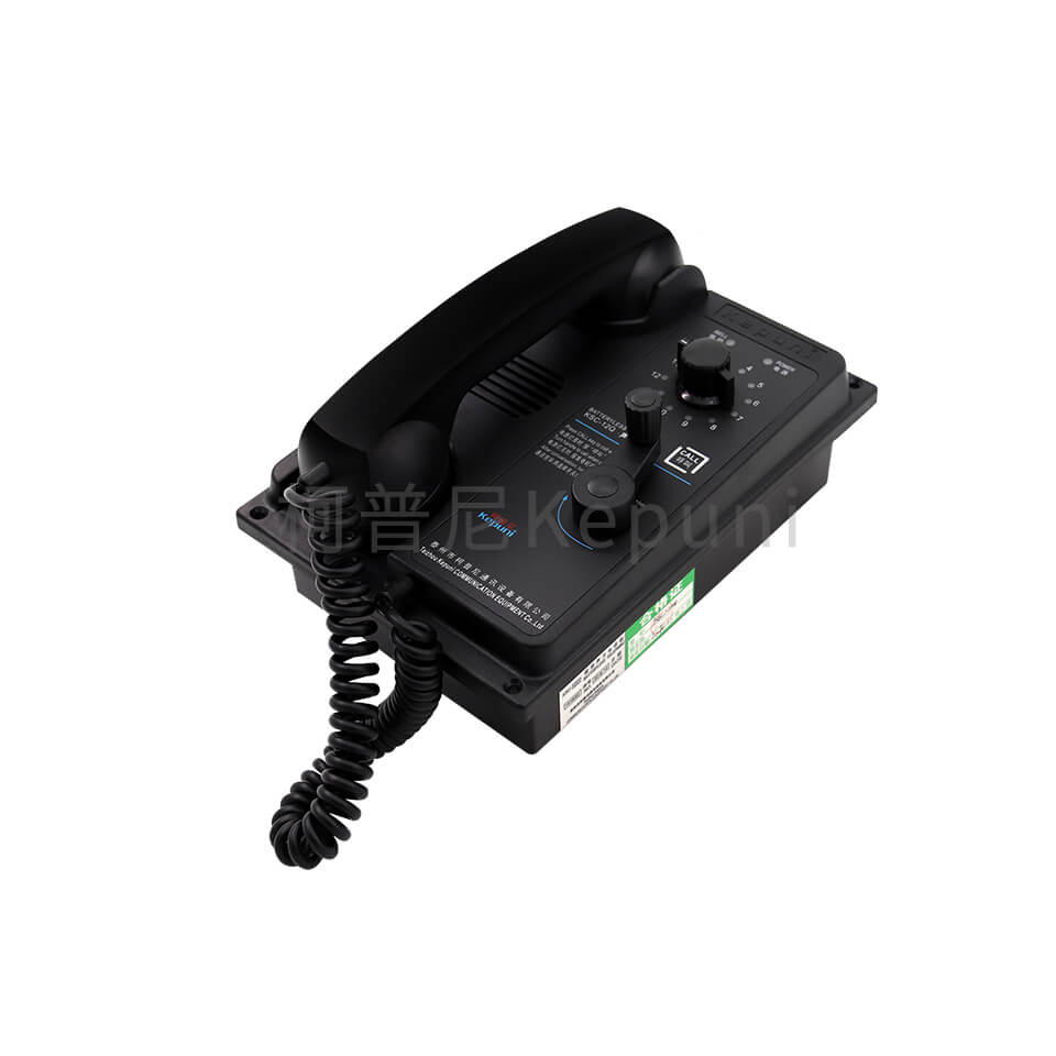 KSC-12Q 12门嵌式选通声力电话机