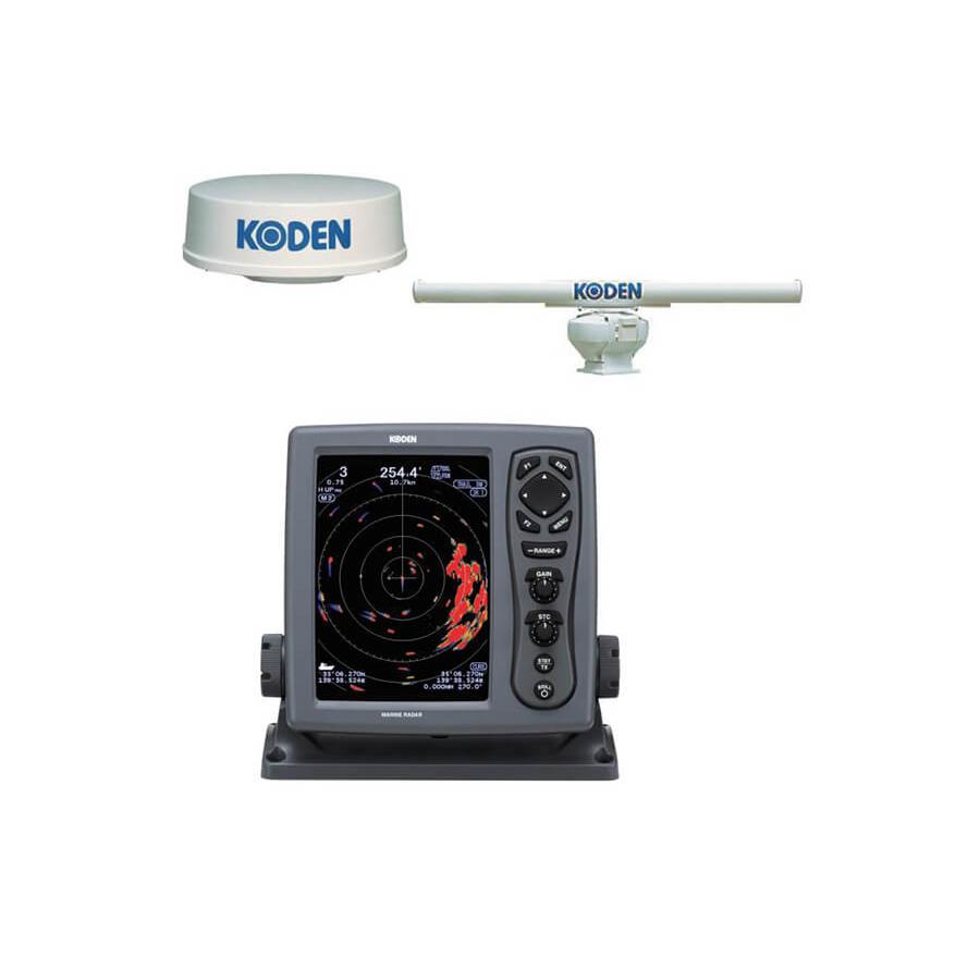 KODEN 8.4-inch color LCD Marine Radar  MDC-921  MDC-941  MDC-940